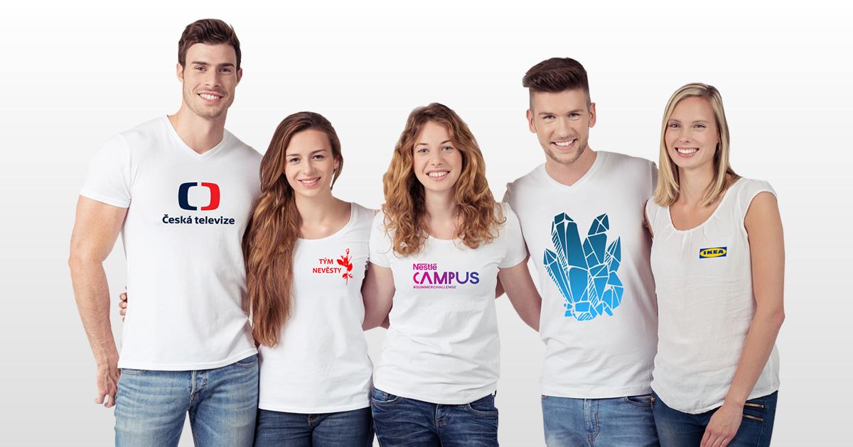Potisk triček v Praze od 1 ks    expresní výroba  0c713d0862