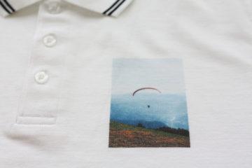 Paragliding foto